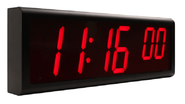 NTP Digital Wall Clocks